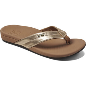Reef Ortho-Spring Teenslippers Dames, gold